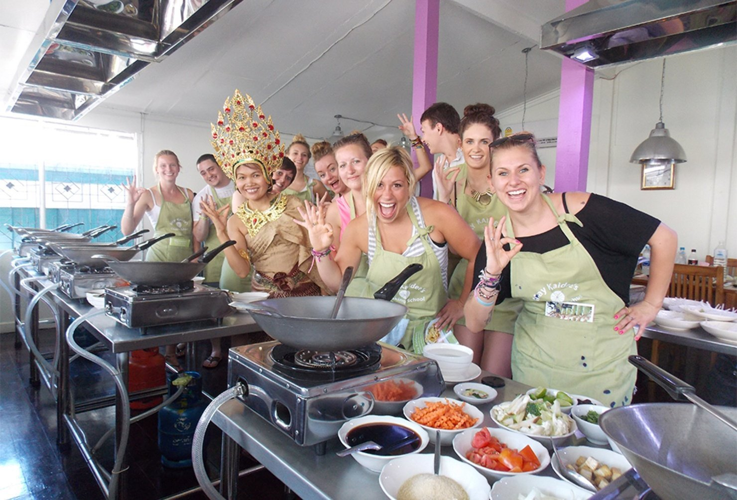Learn To Cook Thai Food In Bangkok